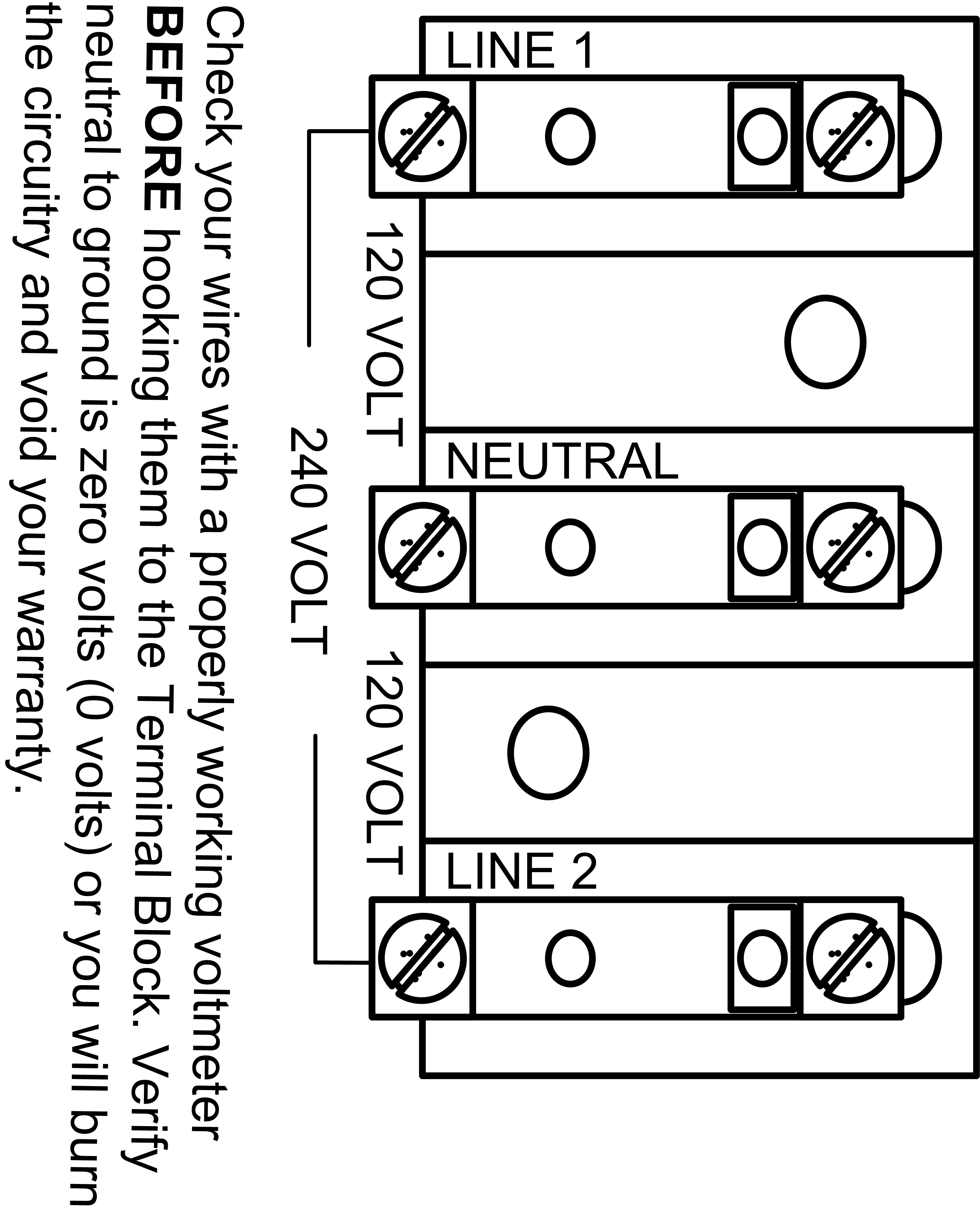 electrical wiring terminal blocks