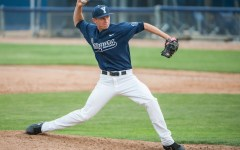 BYU pitcher Desmond Poulson threw eight strong innings, earning a win over St. Mary's on Thursday at Miller Park,