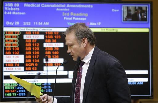 Senate Advances Marijuana Legalization