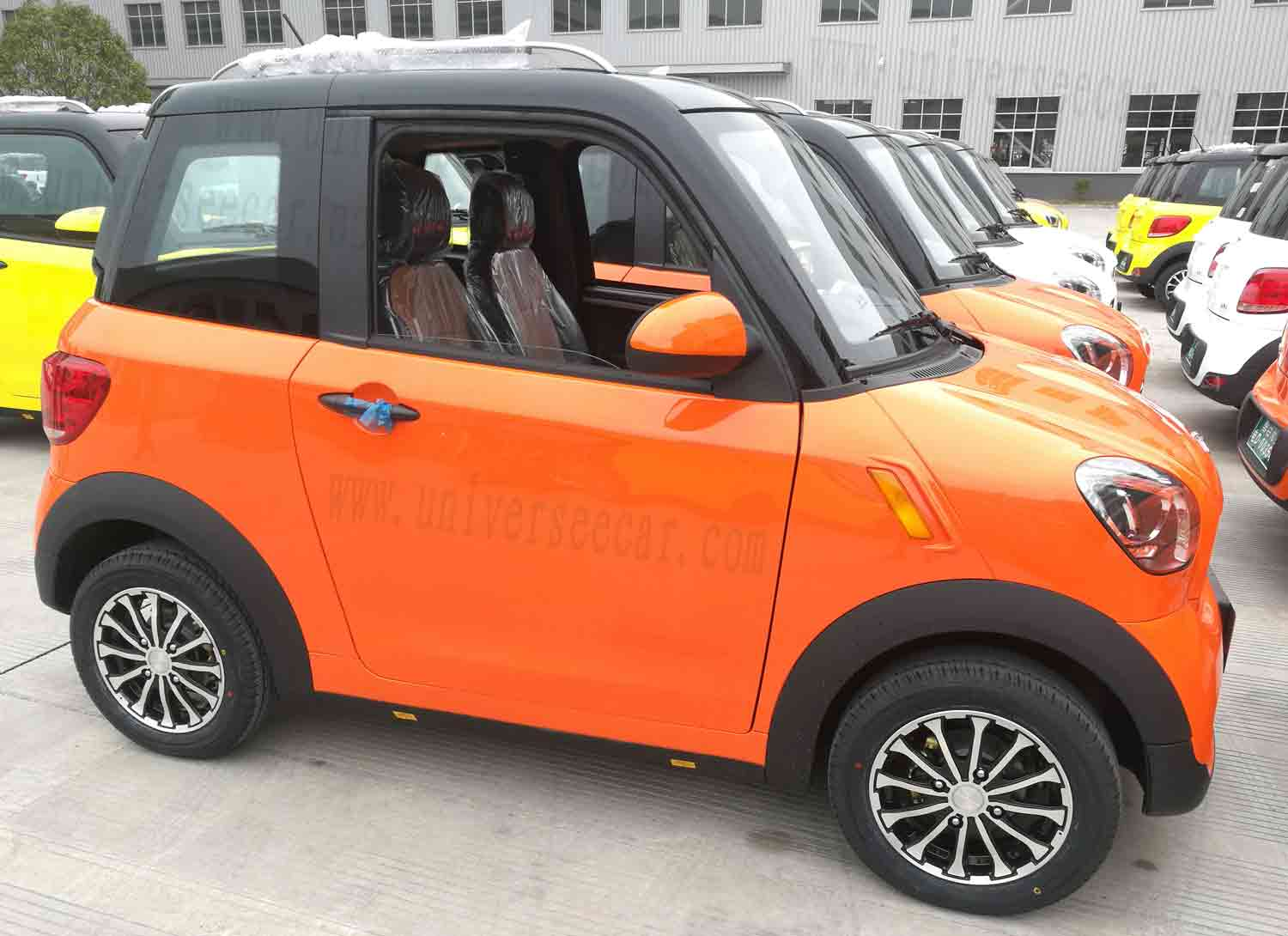 7 Seater Electric Car Ce L7e 2 Seat Mini Ev Electric 4 Wheels Batterycar