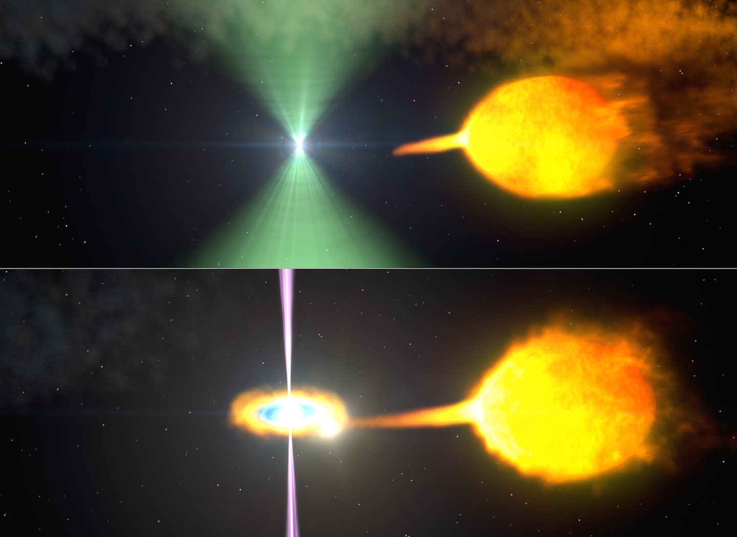 Gamma Split Split Personality Pulsar Switches From Radio To Gamma Rays