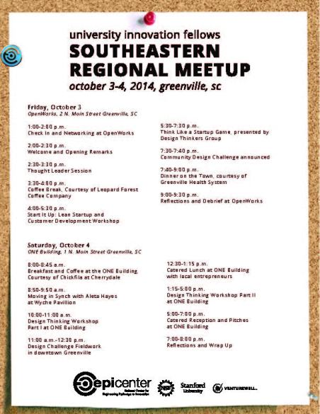 Fellows Southeastern Regional Meetup Agenda