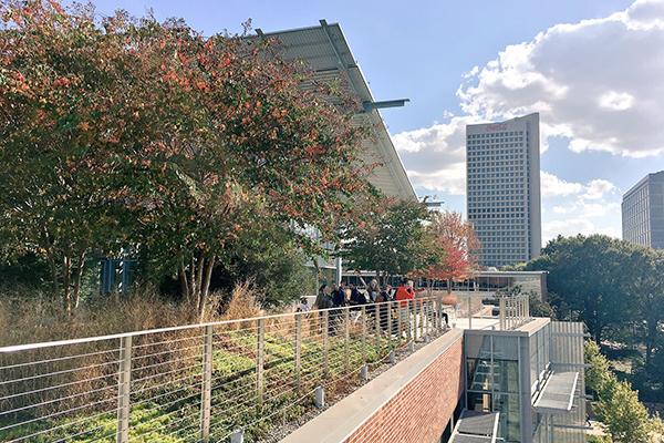 Fellows explore Georgia Tech's beautiful campus
