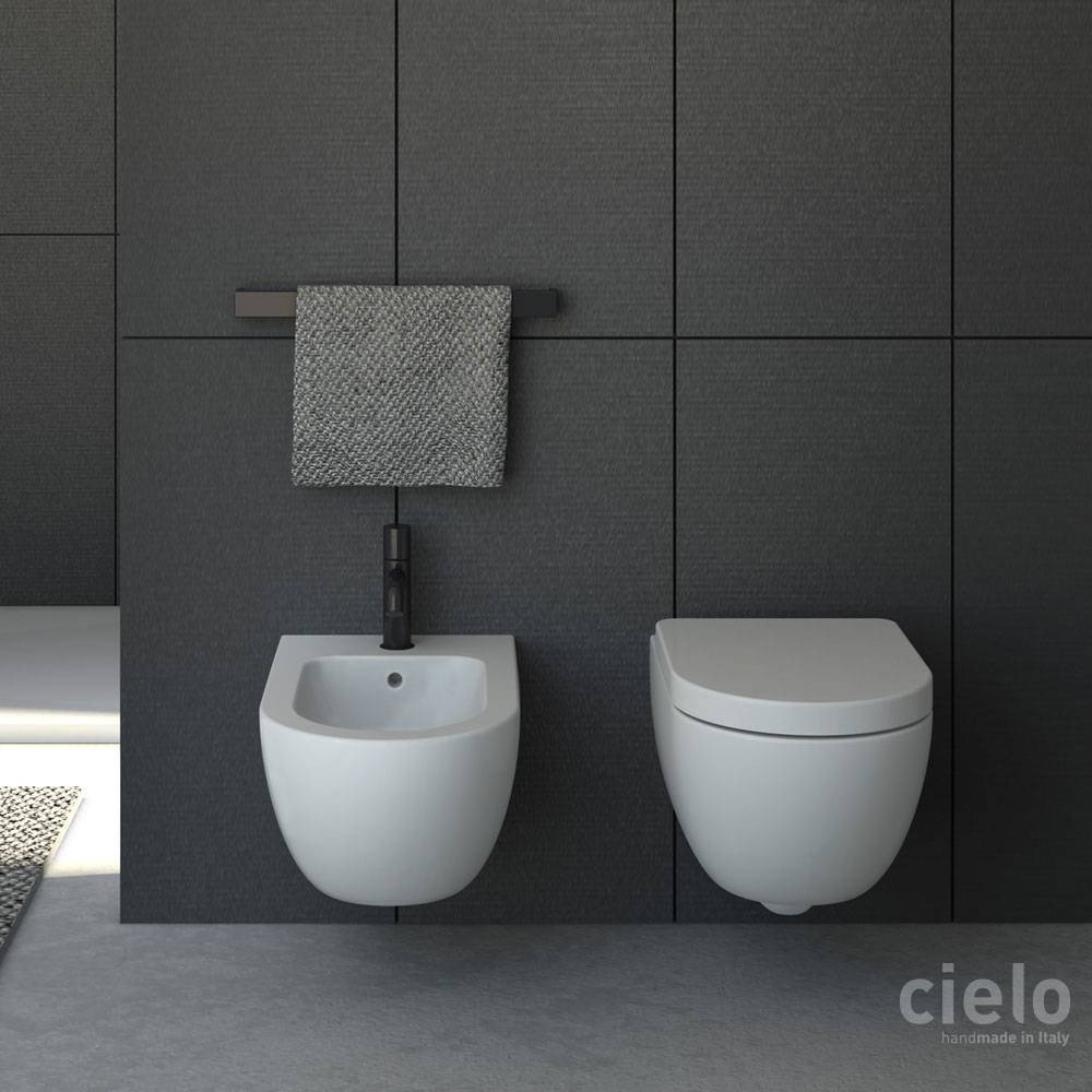 Lavabi Cielo Ceramica Cielo Serie Enjoy Keep Clean Sanitari Sospesi Soft Close