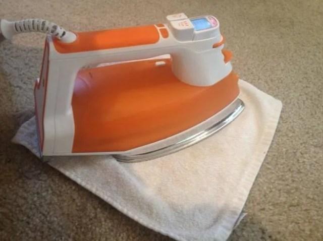 ferro da stiro per pulire la moquette