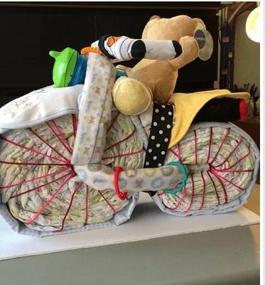 bicicletta pannolini