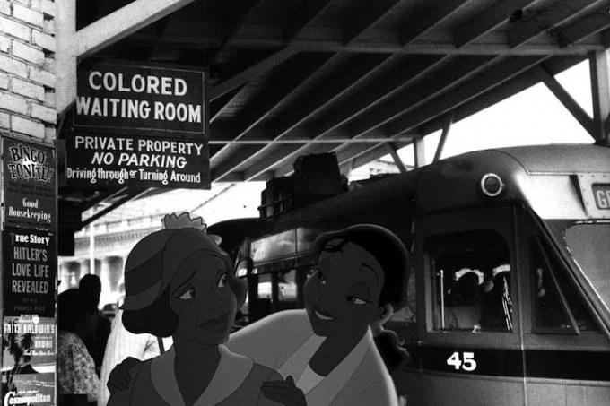 cartone animato dedicato al razzismo