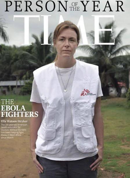 medico combatte ebola