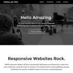 Parallax Pro: Um tema para sites que merecem destaque
