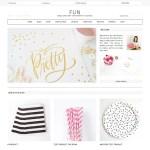 Fun: Tema para blog de moda com suporte para e-commerce