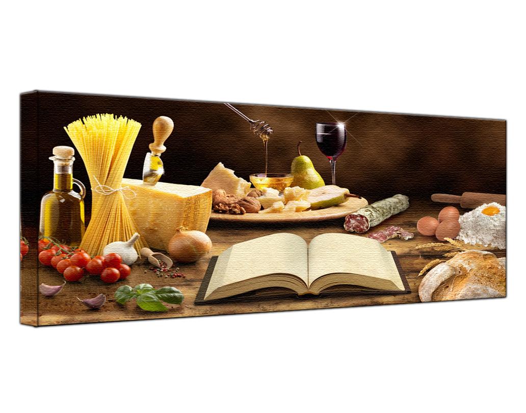 Wandbild Leinwand Küche