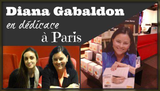 Dédicace Diana Gabaldon cover edited