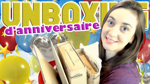 Unboxing d'anniversaire 2016 cover