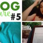 Vlog lecture #5 : le vlog de malade