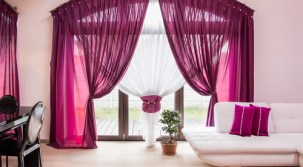 開運!風水でカーテン選び!色や模様は方角によって変えよう