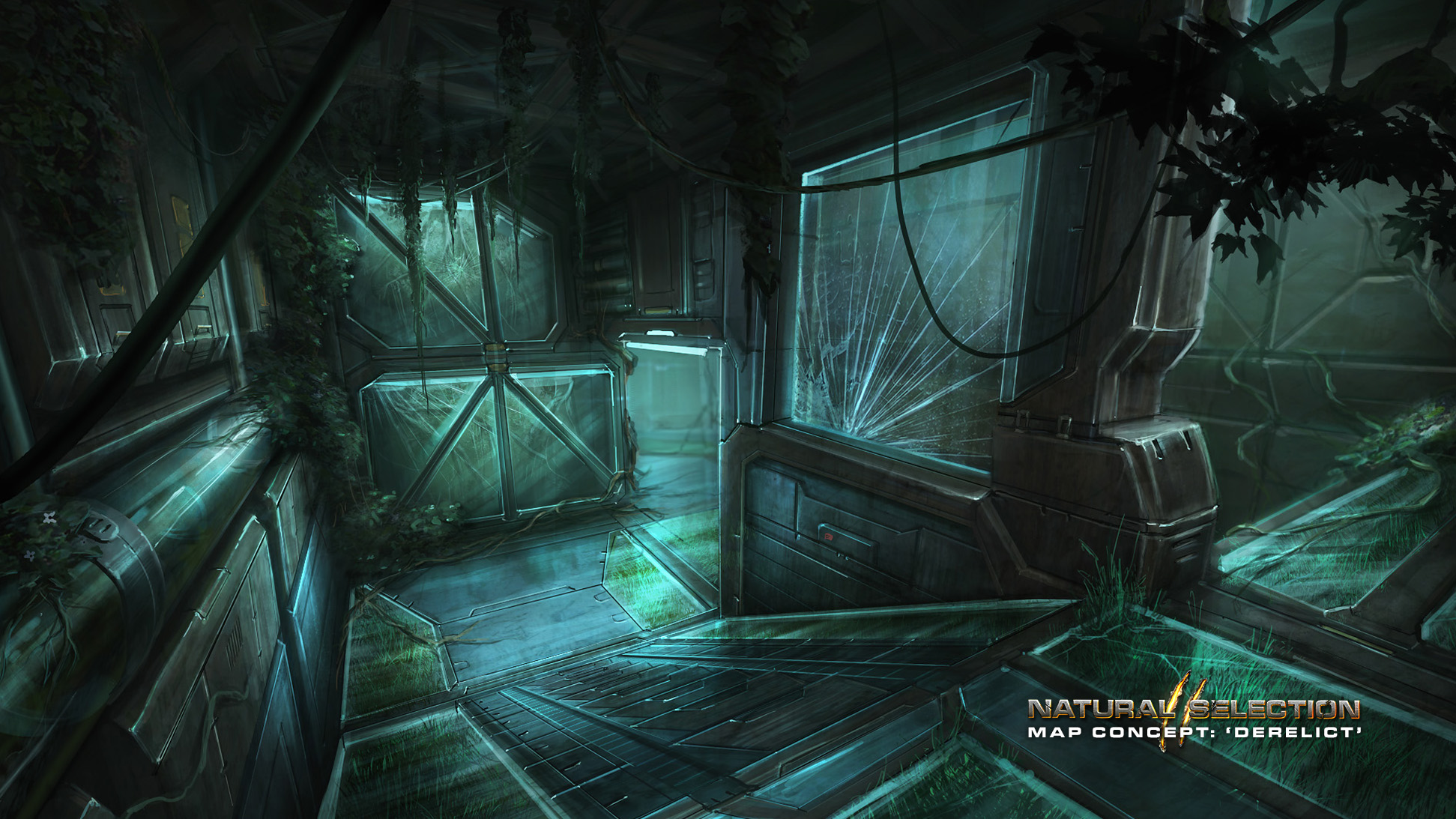 Gravity Falls Landscapes Wallpaper Ns2 Map Asset Release Derelict Natural Selection 2