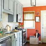 {Kitchen Makeover} Curtainworks and Accént Walls