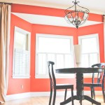 {Kitchen Makeover} Accént Wall and Curtainworks Reveal