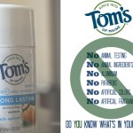 {#FreshNaturally} Banishing Pre-Teen Underarm Funk with Tom's of Maine
