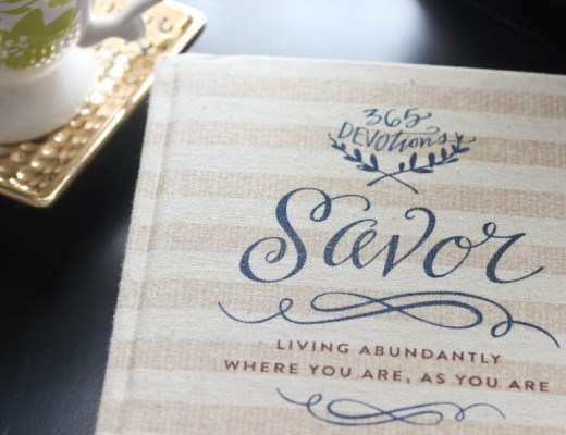 Savor by Shauna Niequist