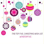 fab top five christmas gift guide