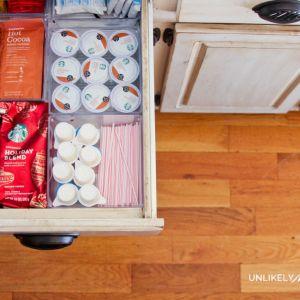 Kitchen Organization | DIY Coffee Station