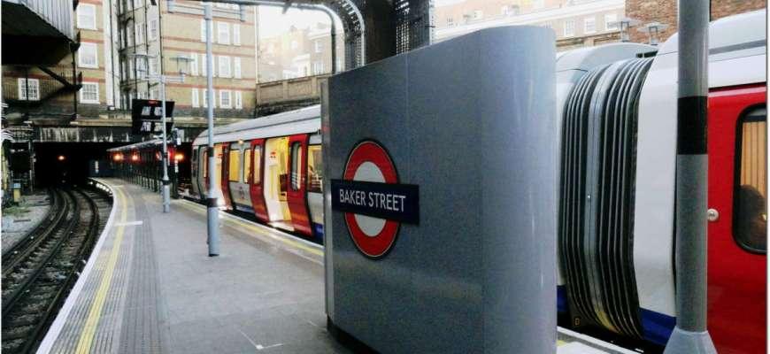 Baker St Station London Underground
