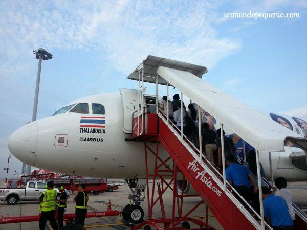 Avión de Thai Air Asia