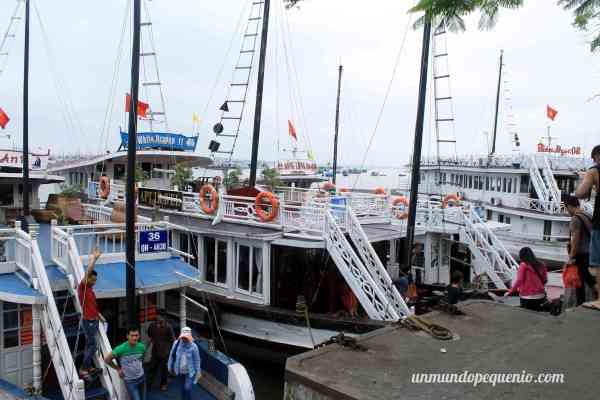 Nuestro barco, el White Dragon 11