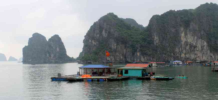 Halong Bay fishermen