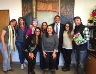 Visita al ministro de cultura y turismo de Salta