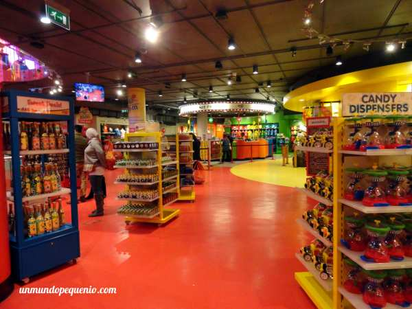Local de M&M's World de Londres
