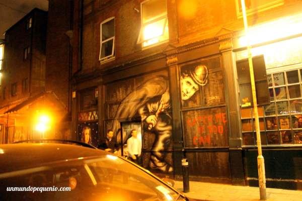 Graffiti de Jack el Destripador
