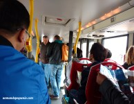 Interior del Big Bus Tours