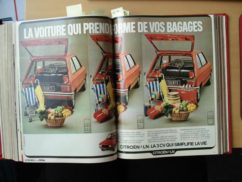 LN Citroen Elle 1976
