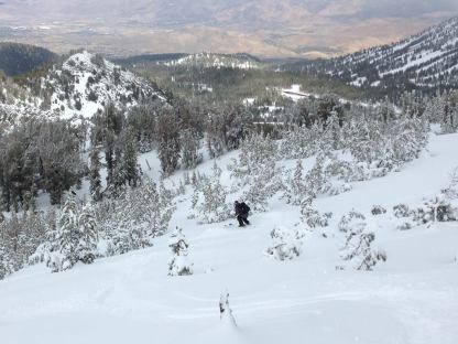 Photo in the Rose backcountry by Dany.