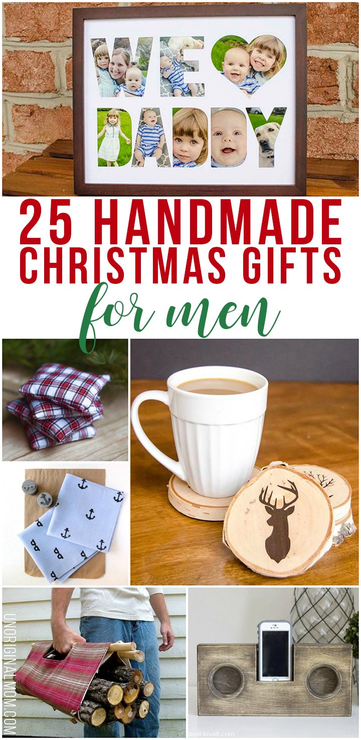 Christmas Homemade Gifts 25 Handmade Christmas Gifts For Men Unoriginal Mom