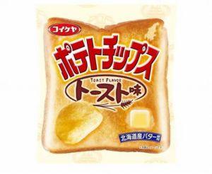 コイケヤポテトチップストースト牛乳カロリー味感想価格どこで買える