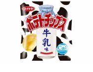 コイケヤポテトチップス「牛乳味」カロリーは?アレンジレシピは?
