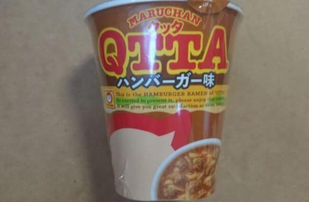 QTTA「ハンバーガー味」はうまい?まずい?カロリー・味の評価は?