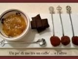 Tartufi di cioccolato fondente con confettura di arance