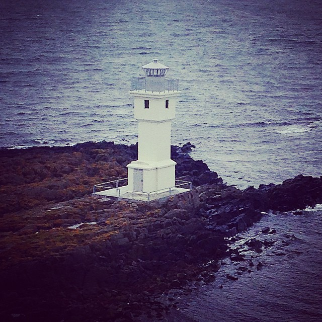 Little lighthouse at Akranes (viewed from top of big lighthouse)