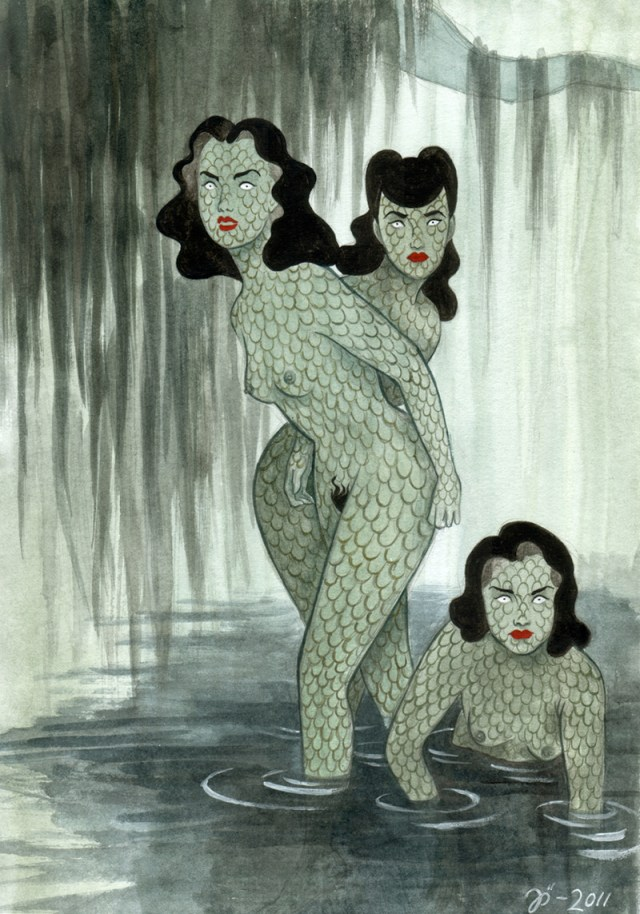 Swamp girls