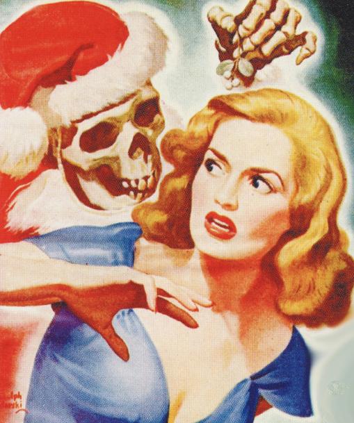 Popular Detective  Cover art by Rudolph Belarski December, 1945