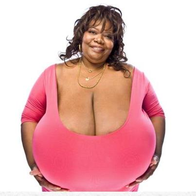 World's Largest Natural Breasts Size
