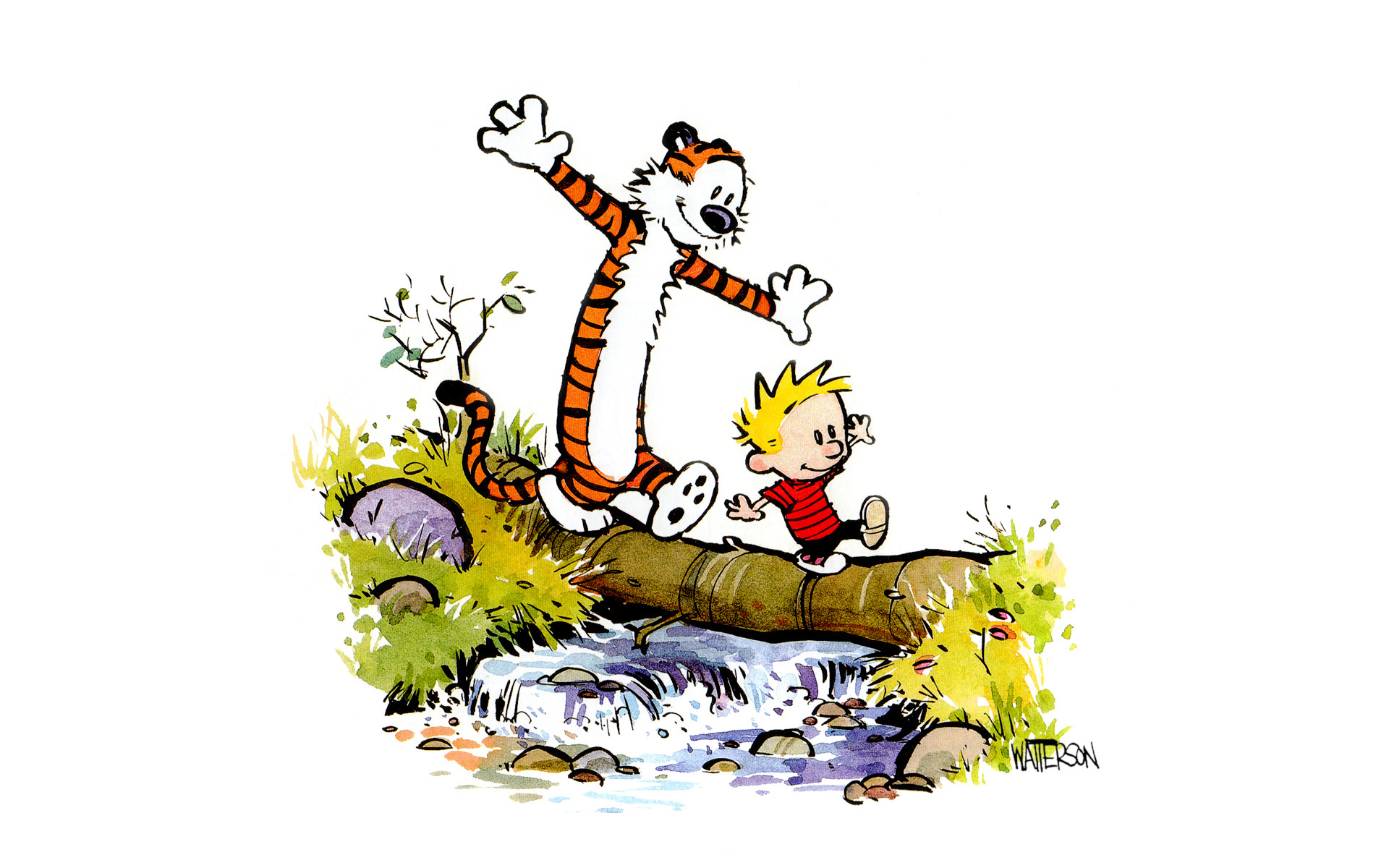 Thought Provoking Quotes Wallpapers 28 Hi Def Calvin And Hobbes Wallpapers