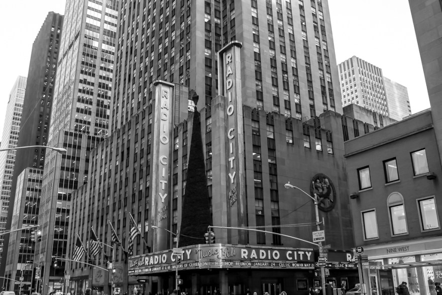 Radio City Music Hall, New York, 2014 (c) Veronika C. Dräxler