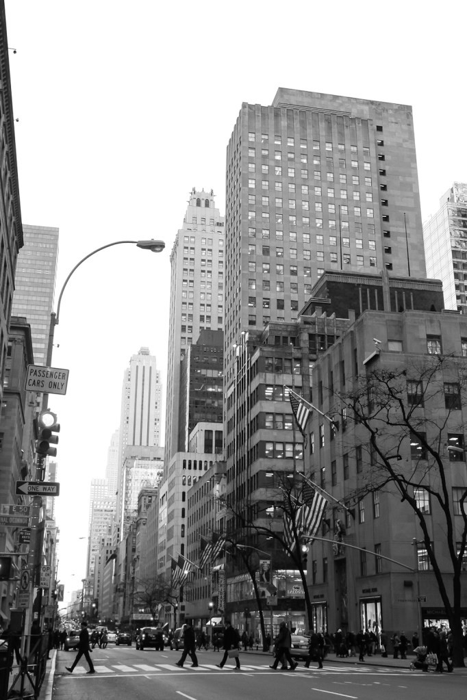 Straße in Manhattan, New York, 2014 (c) Veronika C. Dräxler