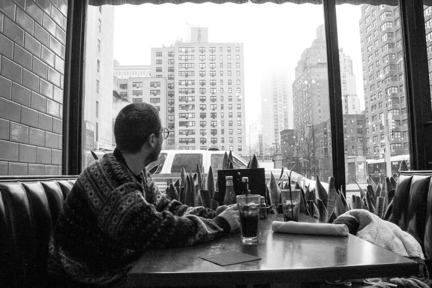 Porträt im 5 Napkins Burger, New York, 2014 (c) Veronika C. Dräxler