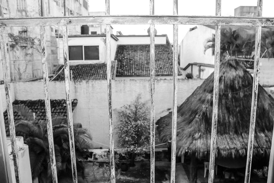 Ausblick aus dem Zimmer, Cancun, Mexiko 2014 (c) Christoph Pankowski